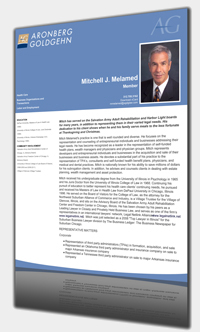 Print Bio to PDF